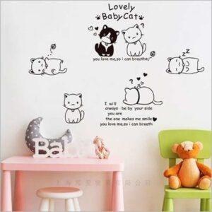 Screen Acrílicos y Publicidad vinilo de gatos